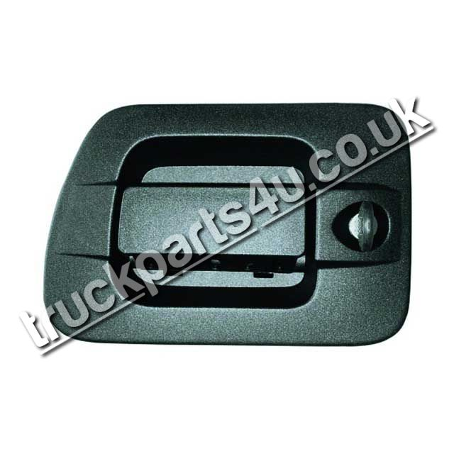 TP4U - IVECO DOOR HANDLE RH WITH BARREL AND KEYS