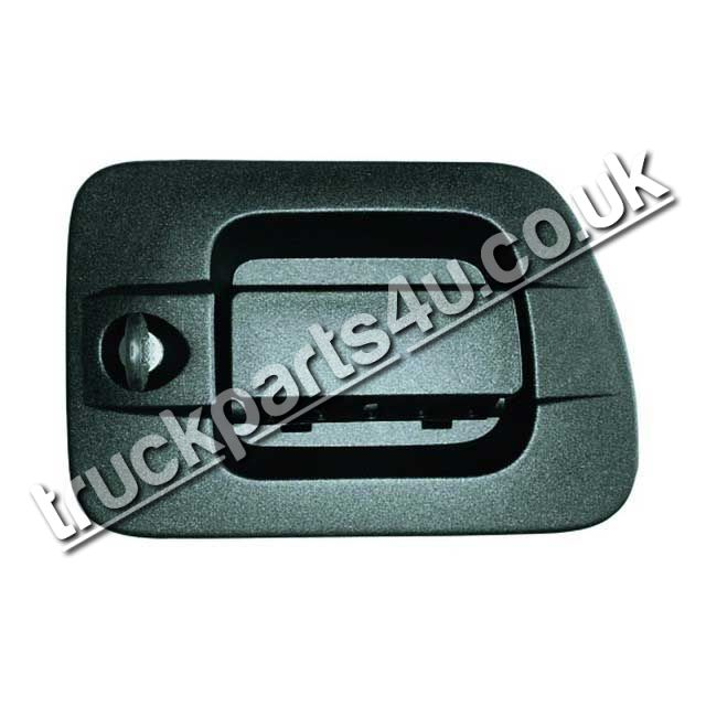 TP4U - IVECO DOOR HANDLE LH WITH BARREL AND KEYS