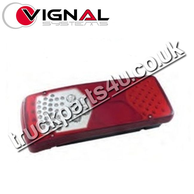 TP4U - DAF VIGNAL REAR LIGHT LH (LED) FOR LF EURO 6