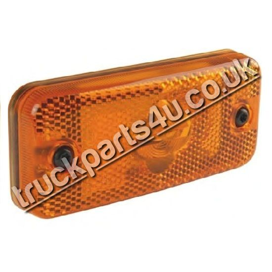 TP4U - AMBER SIDE MARKER LIGHT (BULB) FOR DAF IVECO VOLVO RENAULT