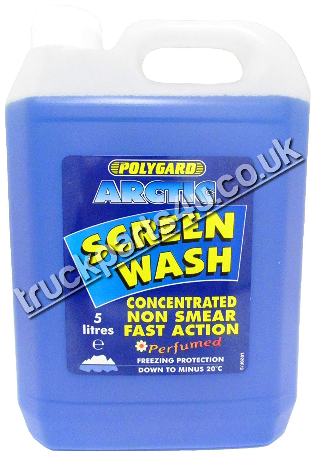 TP4U - Polygard Arctic Screenwash 5L Concentrated Non Smear