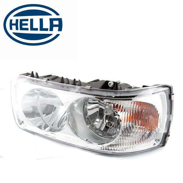 TP4U - DAF  HELLA HEADLIGHT LH WITH MOTOR FOR LF/CF/XF