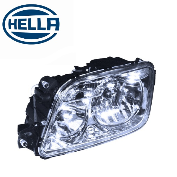 TP4U - MERCEDES HELLA HEADLIGHT LH WITH MOTOR FOR ACTROS 3