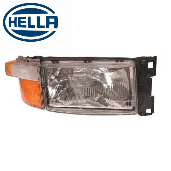 TP4U - SCANIA HELLA HEADLIGHT RH WITH INDICATOR LIGHT AND LOOM FOR 4/5/6 SERIES