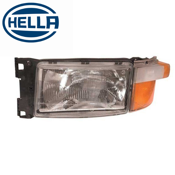 TP4U - SCANIA HELLA HEADLIGHT LH WITH INDICATOR AND LOOM FOR 4/5/6 SERIES