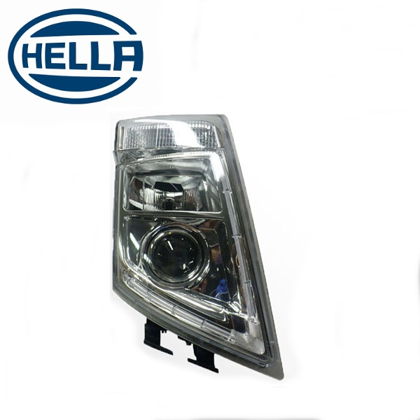 TP4U - VOLVO HELLA HEADLIGHT RH WITH LED OUTLINE FOR FM/FH