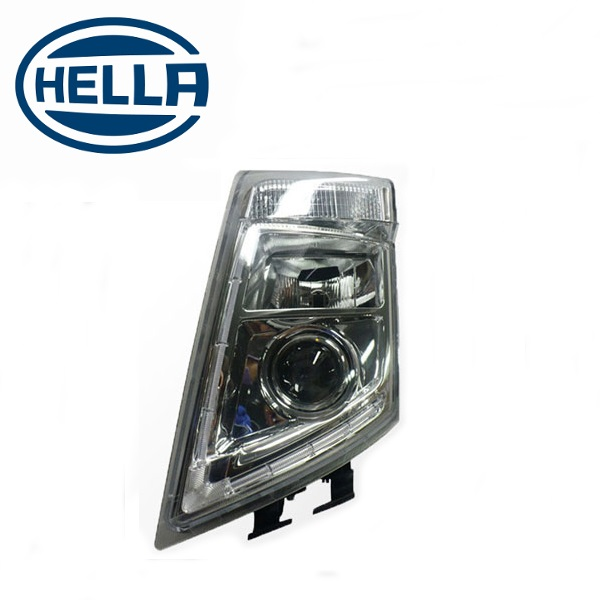 TP4U - VOLVO HELLA HEADLIGHT LH WITH LED OUTLINE FOR FM/FH