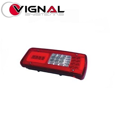 TP4U - IVECO VIGNAL REAR LIGHT RH (LC11 TYPE) WITH REVERSE. ALARM. FOR STRALIS