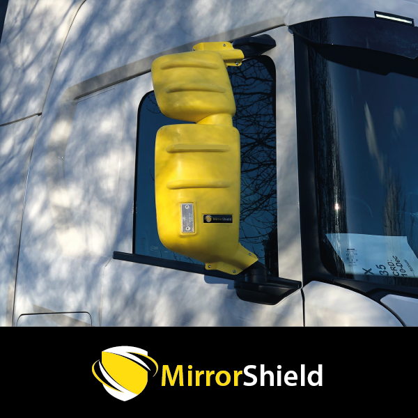 TP4U - SCANIA NEXT GEN KUDA MIRRORSHIELD  PROTECTOR YELLOW