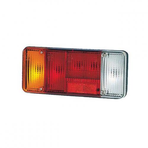 TP4U - IVECO REAR LAMP LENS LH WITH REVS LIGHT FOR EUROCARGO