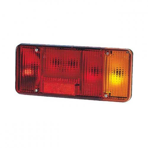 TP4U - IVECO REAR LAMP LENS RH WITH FOG LIGHT FOR EUROCARGO