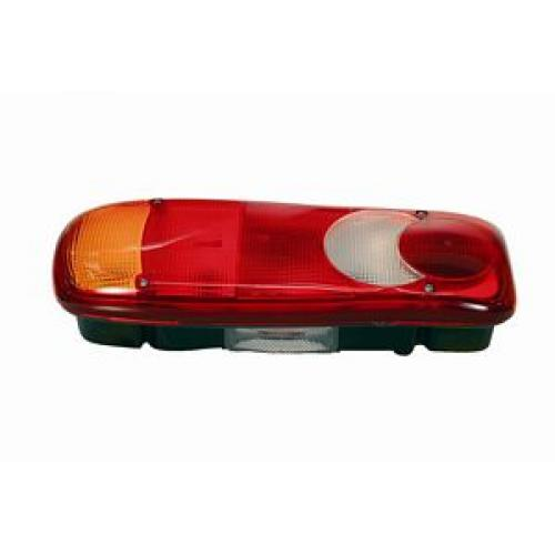TP4U - DAF/RENAULT/VOLVO VIGNAL COMPLETE REAR LAMP    LH WITH NUMBER PLATE LAMP FOR LF/MIDLUM/FL
