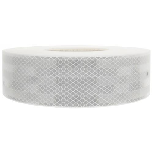 TP4U - CONSPICUITY REFLECTIVE TAPE - WHITE - ECE104 50MM X 12.5M